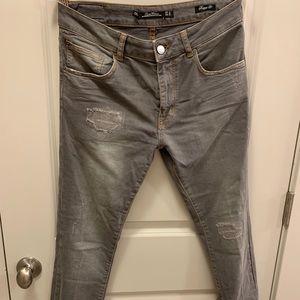 zara woman boyfriend jeans